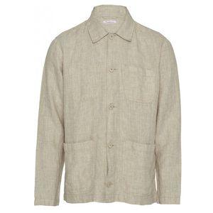 Pine Linen Overshirt