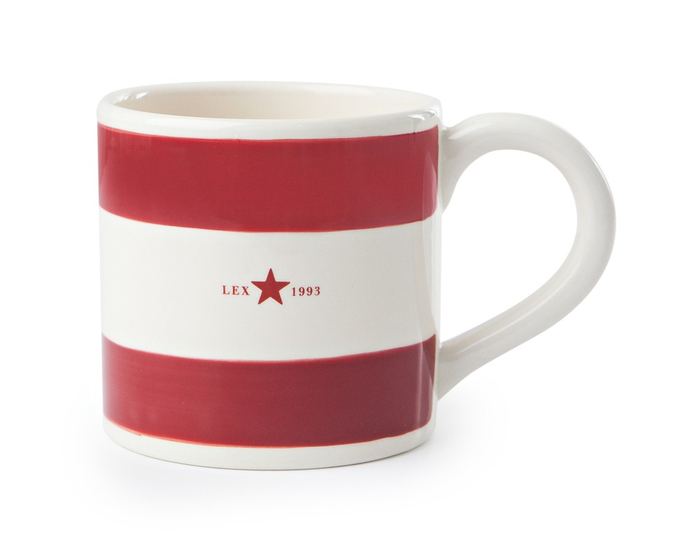 Bild 1 av Mug Red/White