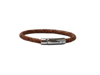 Leather Bracelet 21 cm