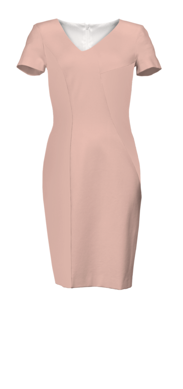 Bild 6 av Workday Bodycon Pink In Stock