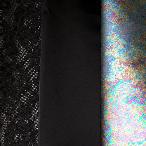 Bild 1 av Fabric set, mixed - used in cocktail dress