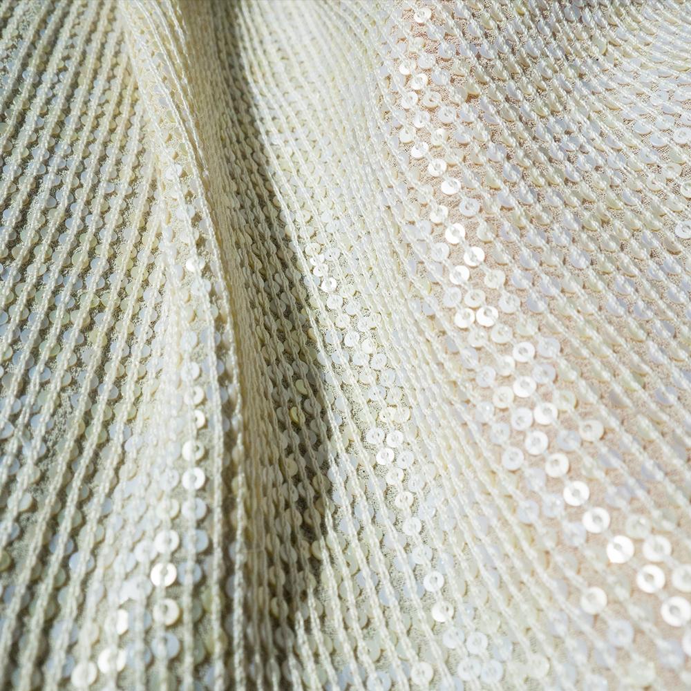 Bild 1 av Silk Sequince, Cream - used in Perfect Day dress
