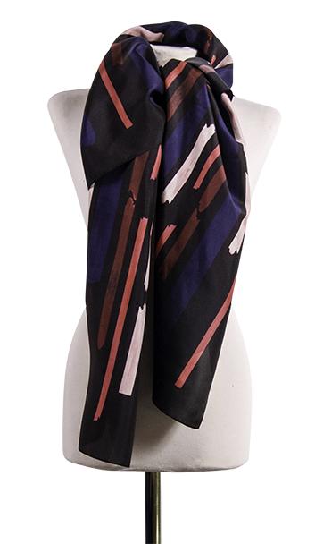 Bild 1 av silk scarf Gentle - 130 cm
