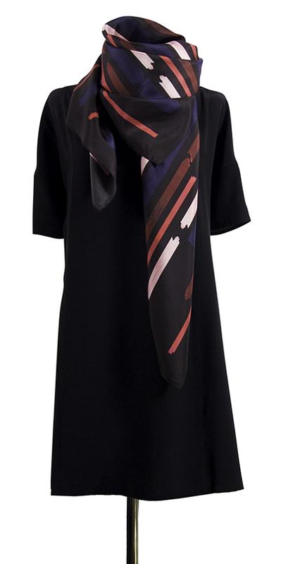 Bild 3 av silk scarf Gentle - 130 cm