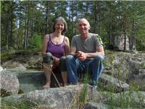 Hari Prem och Björn  Höghultström