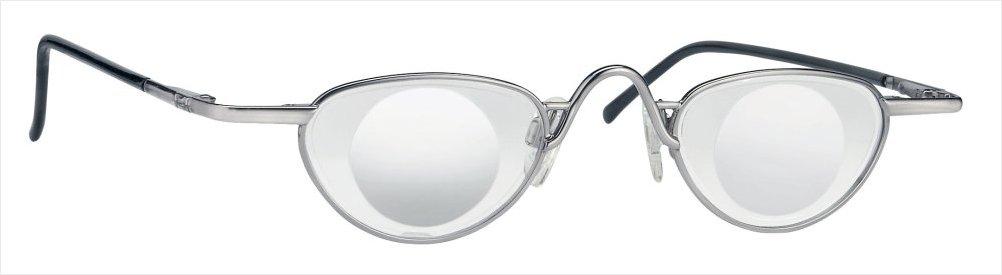 Lupebrille Eschenbach 6x/+24D Noves Sølv