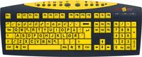 Tastatur Keys-U-See Gult