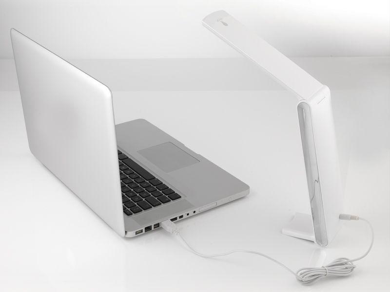 Bordlampe Daylight Foldi LED Design Hvit 2700K
