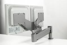 Terminalarm Space flex for 2 skjermer
