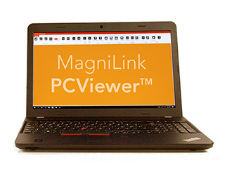 Ny programvare - MagniLink PCViewer