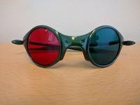 Rød/Grønn brille for barn til Samsynstesting