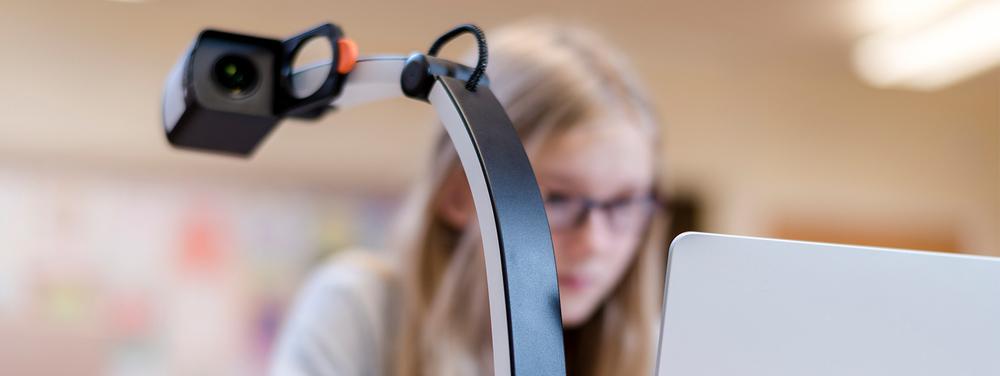 Bilde på MagniLink S - den populære bærbare lese-TVn