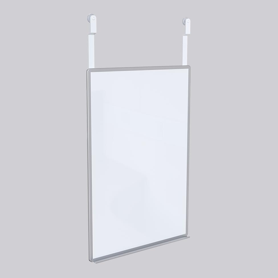 Whiteboard for support rail Standard