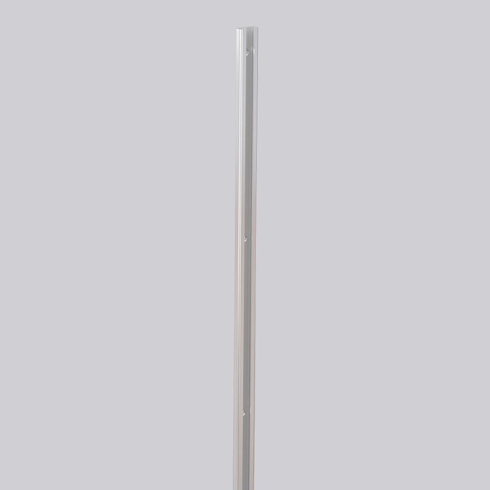C-skena, rostfri