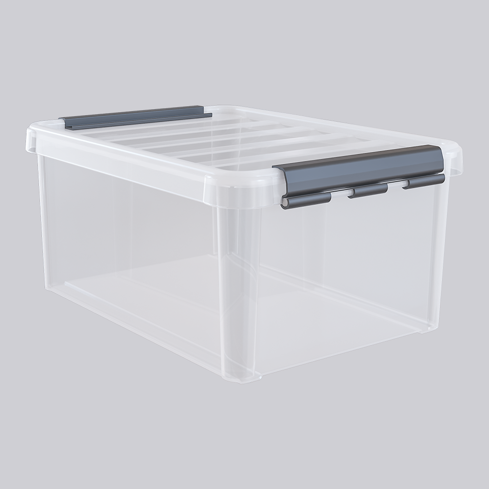Plastbox med lock