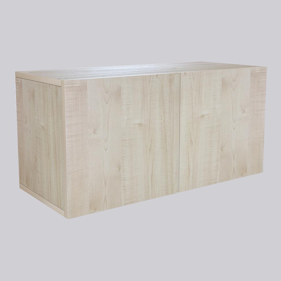 Träskåp Wood med träluckor