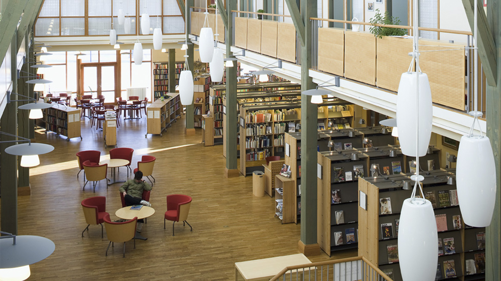 City Library of Eksjö, Sweden