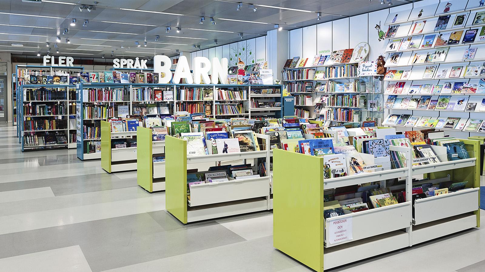 Library of Forum Nacka, Sweden