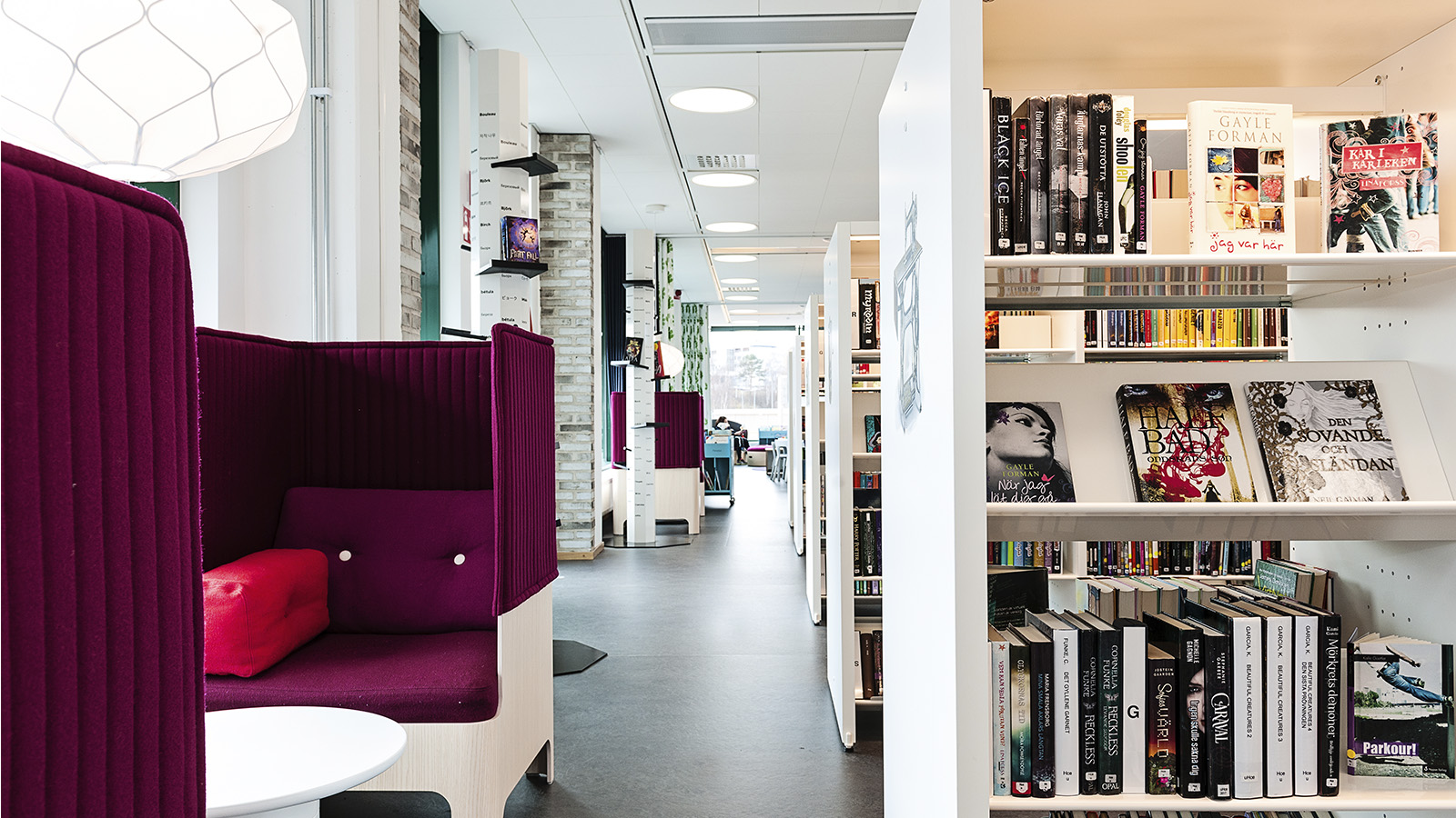 Husqvarna public library, Sweden