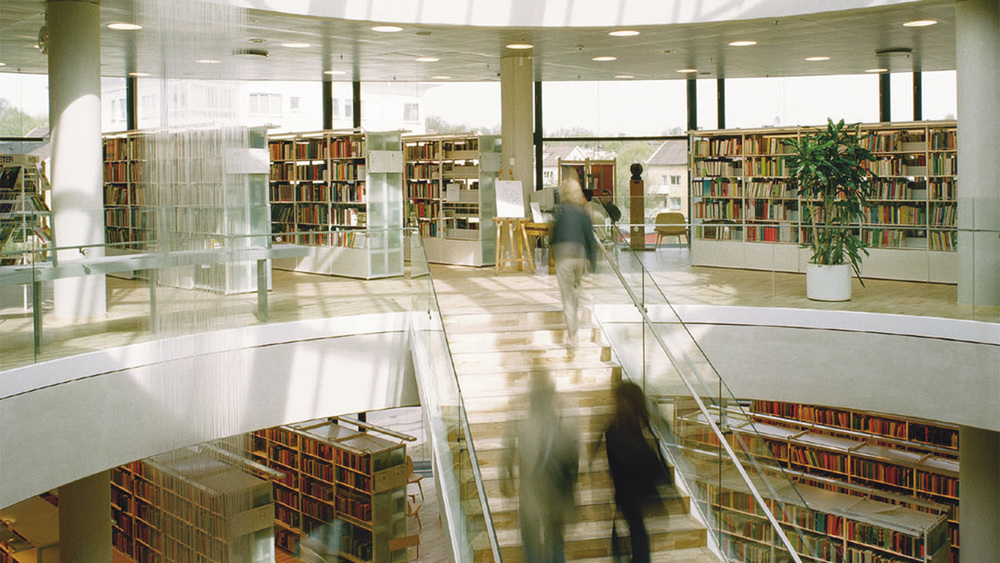City Library of Växjö, Sweden