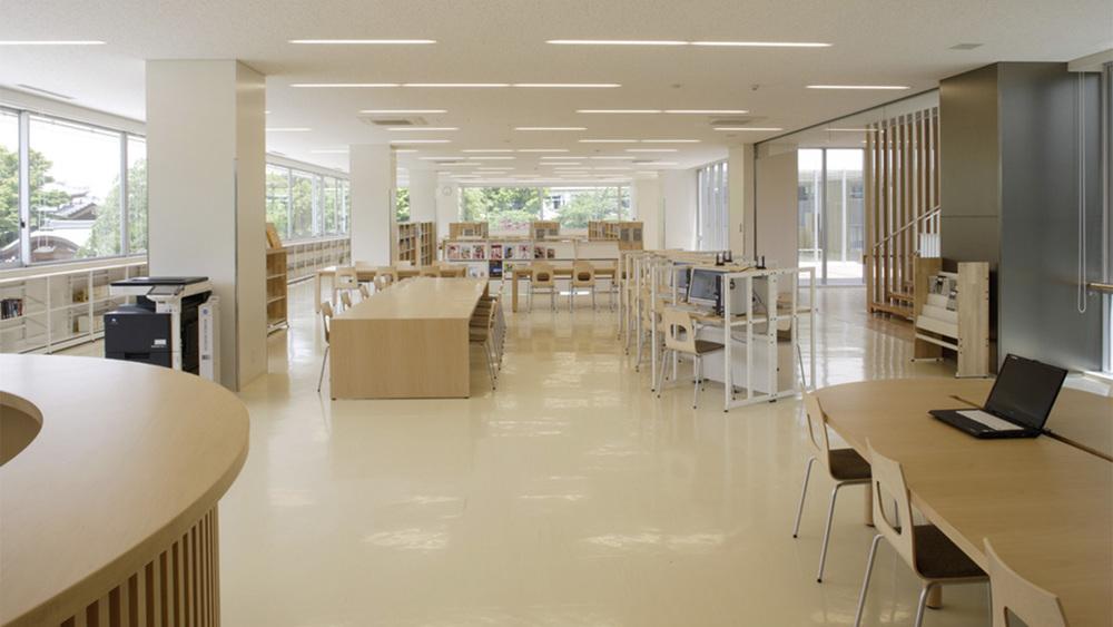 Shukutoku Gakuen bibliotek, Japan