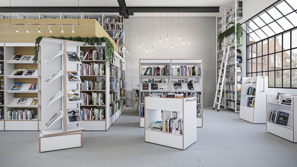 All new Scandinavia Library systems