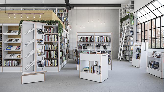 Scandinavia Biblioteksinredning
