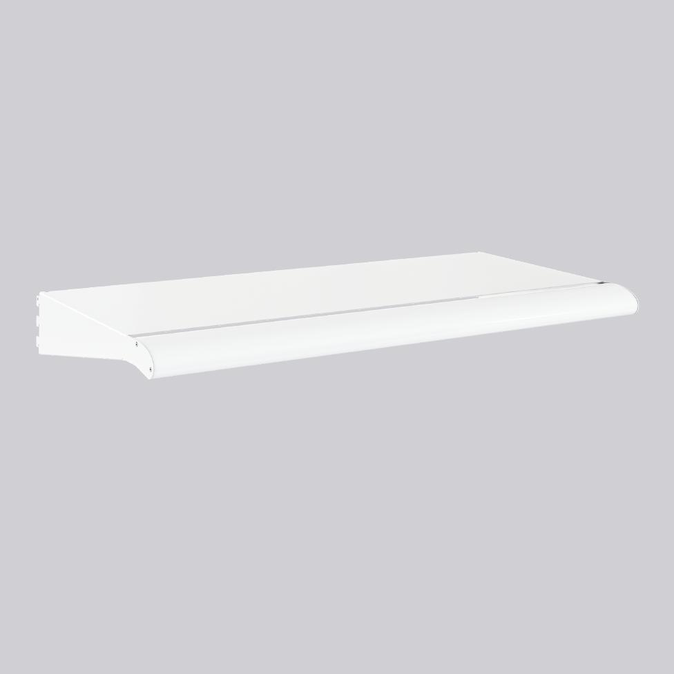 Top shelf w. integrated led luminarie
