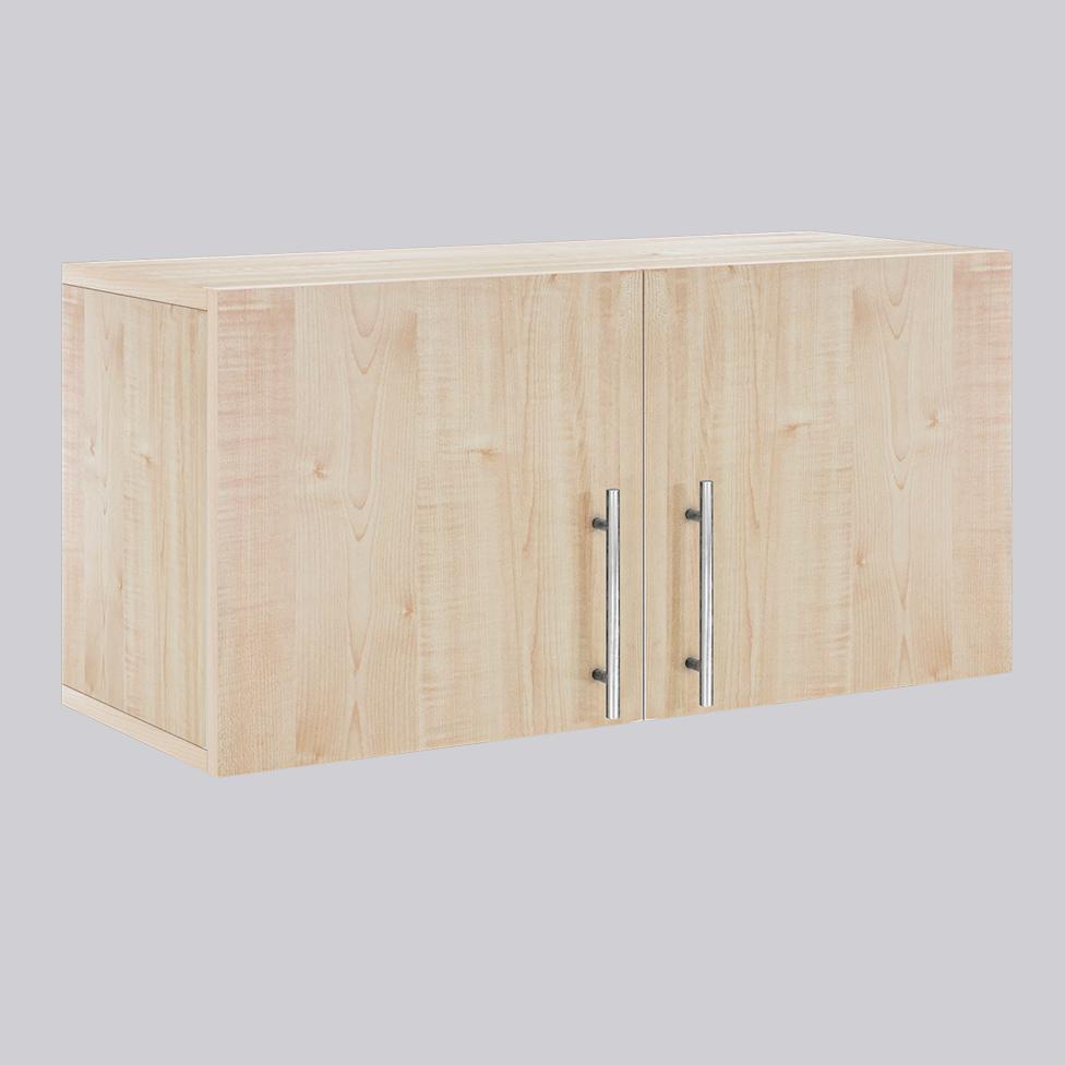 Wooden cabinet with doors