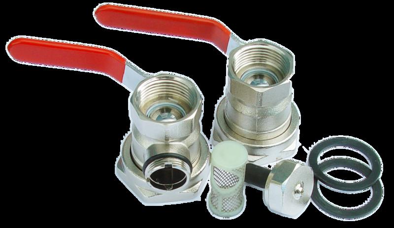 Avstängningsventil med magnetitfilter från Perfecta Pump AB