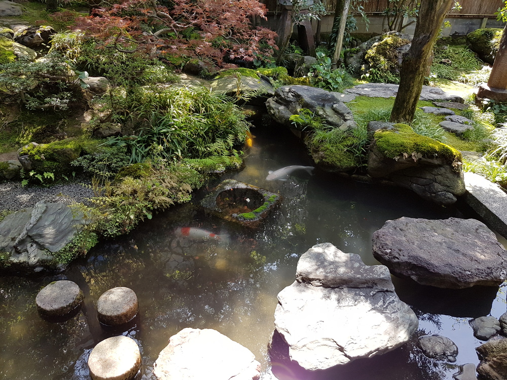 Japansk trädgård