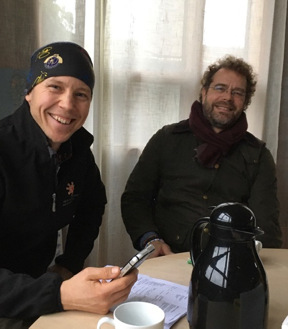 Daniel Hägerby och Stefan Ahlgren