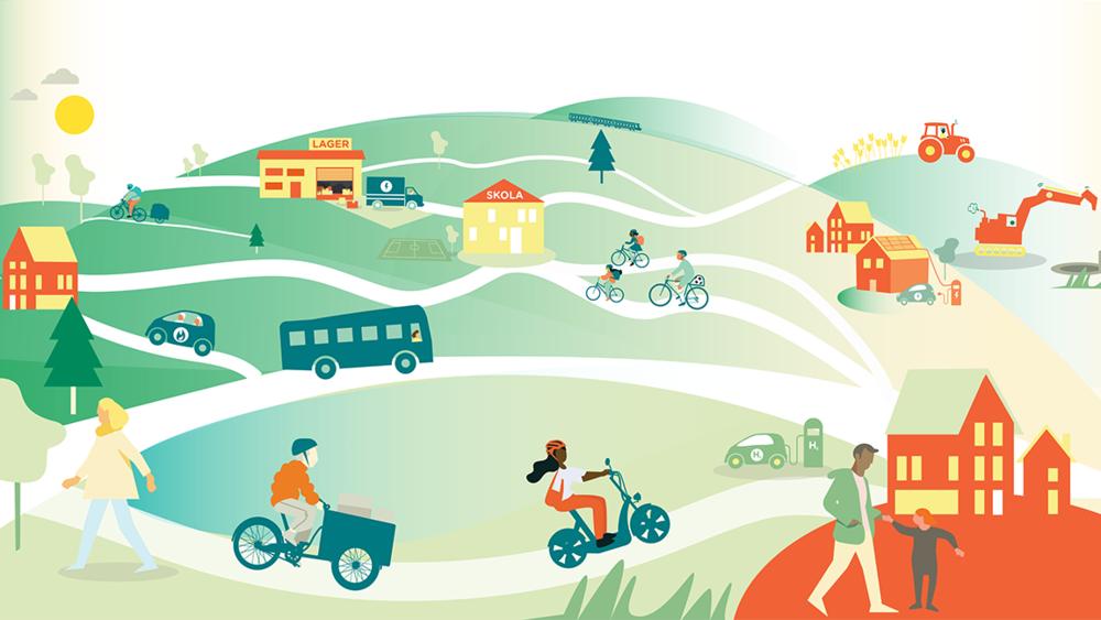 Lastcykel som en del av ett hållbart transportsystem