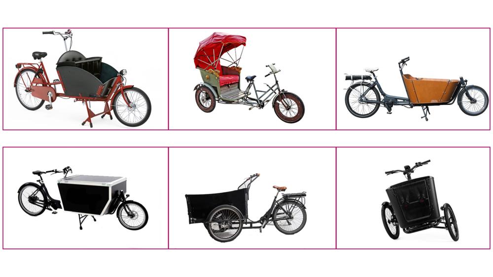 Tre exempel på cykelbibliotek