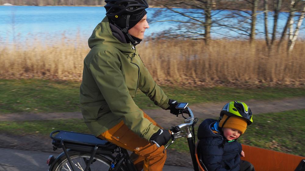 Cykelfamiljen Svensson i Växjö