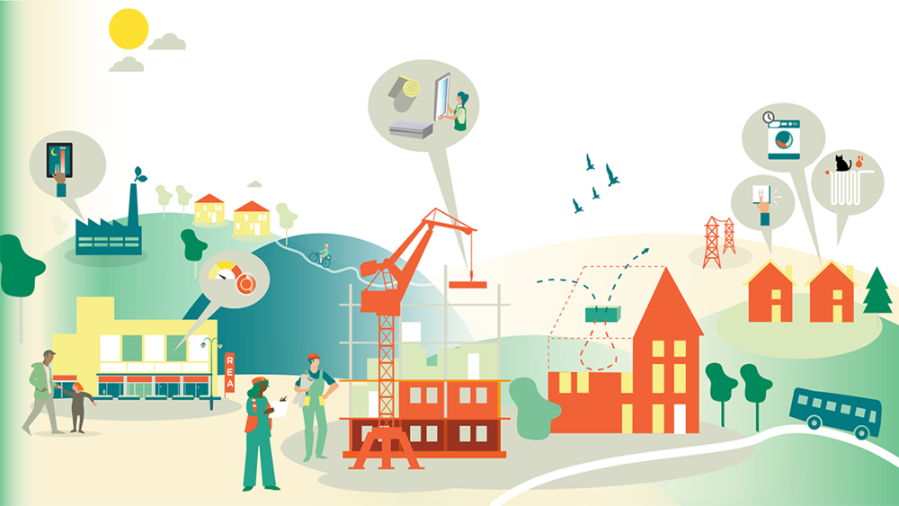 Sök medel för projekt som bidrar till minskad energianvändning!