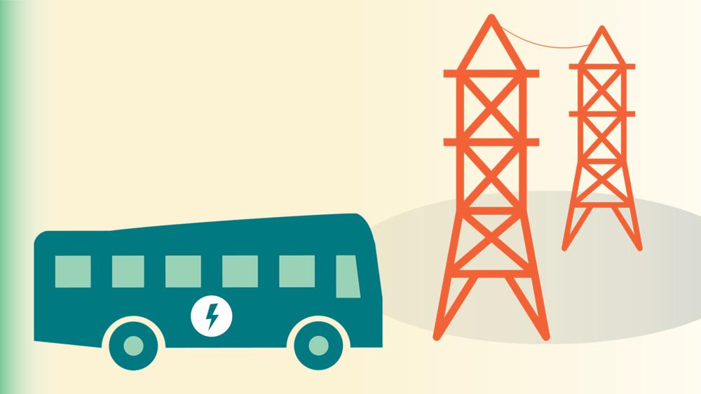 Laddinfrastruktur elbussar