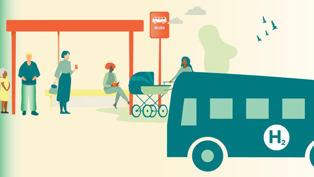 Vätgasbussar i kollektivtrafiken