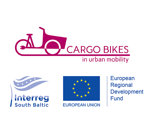 Logos of CoBiUM and South Baltic Programme