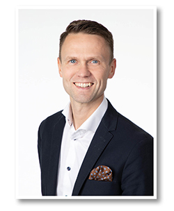 Bild på Henrik Blomdahl, ny vd på LVI