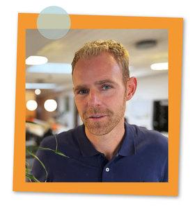 Bild på Johan Truedsson, ny medarbetare på LVI