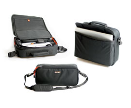 Smart 2-i-1 carrying case