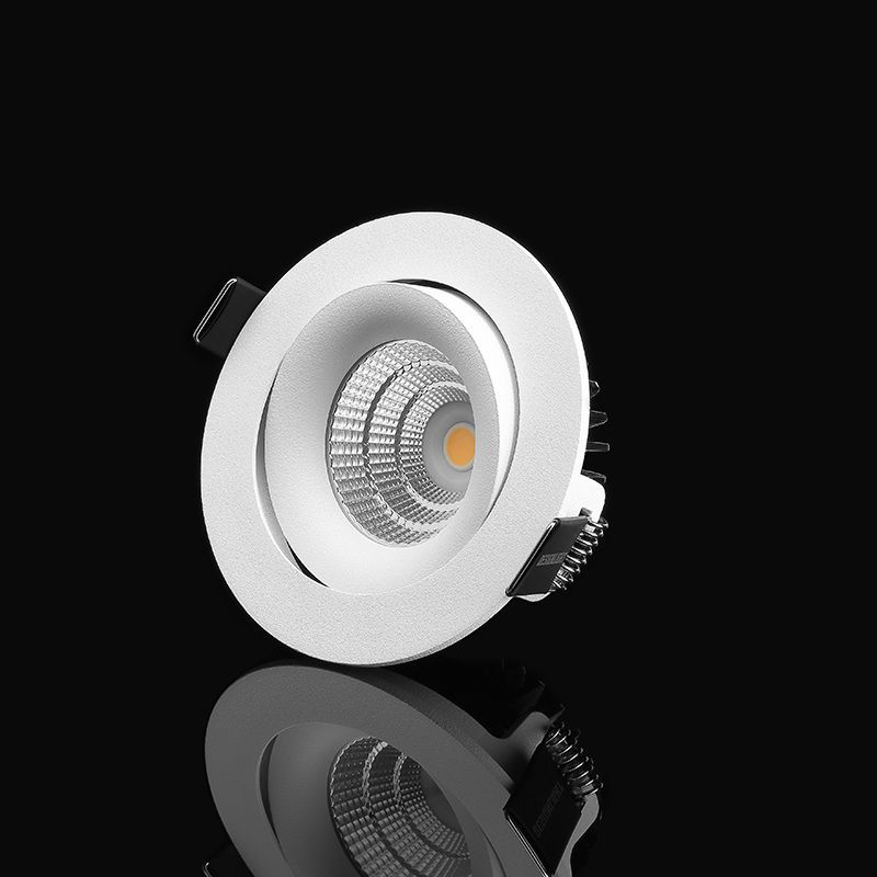 LED-downlight 4000K vitt ljus 690 lumen - Designlight