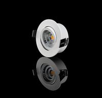 LED-spotlight inbyggnadsdjup 32,5mm vinklingsbar 2700K