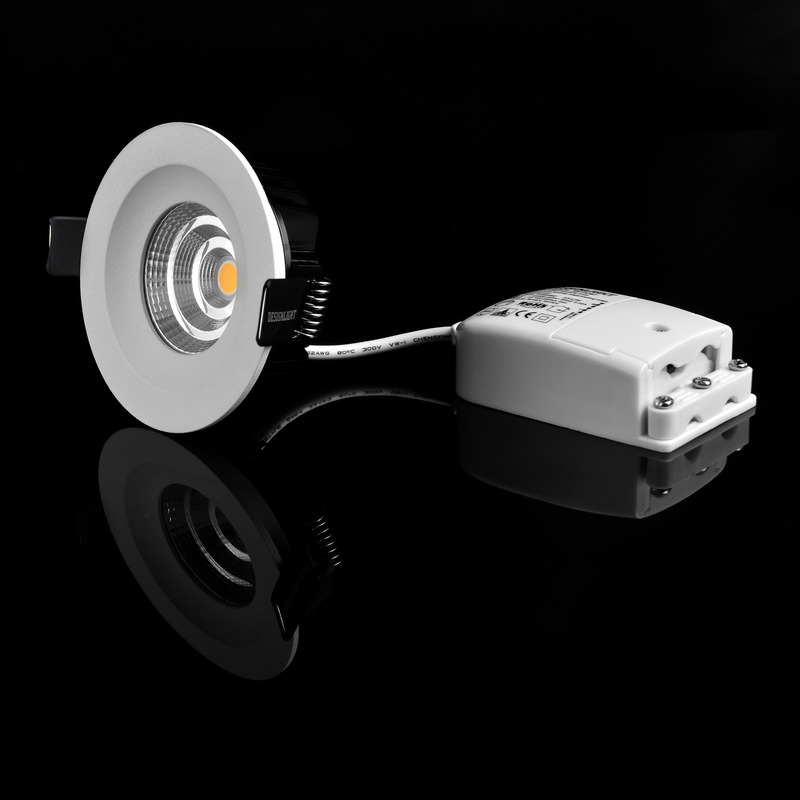 Designlight LED-spotlight utomhus Q-40MW IP44 3000K