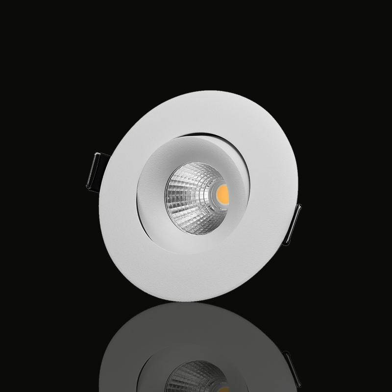 LED-Downlight ställbar spridning 3000K PR-68MW