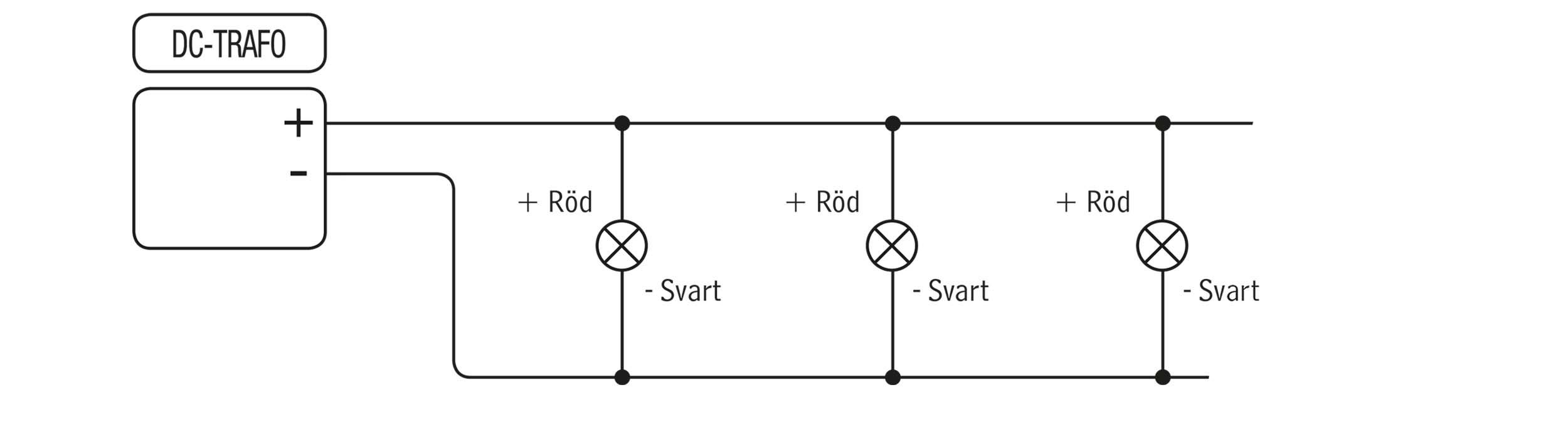 Parallellkoppling likström