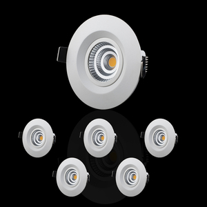 LED-spotlights 6-pack 3000K MP-306MW