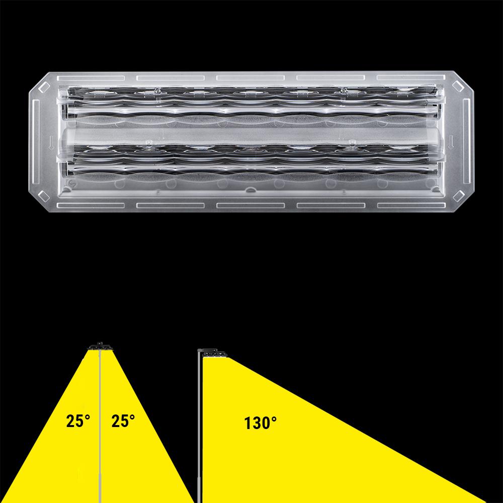 Lins assymmetrisk 13x25°