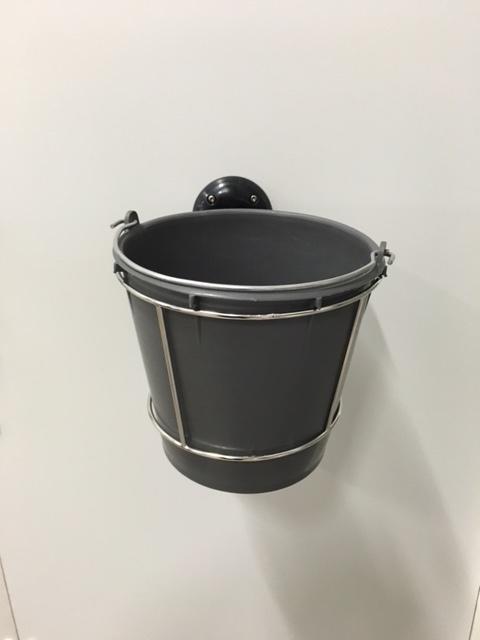 Rostfri hinkhållare mEQs
